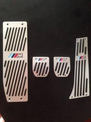 ".Накладки на педали BMW с логотипом ""М"""