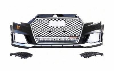 Бампер передний Audi A3 стиль RS3 (2016-...)