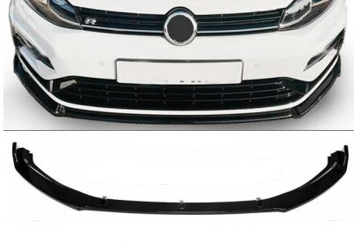 Накладка (диффузор) переднего бампера VW GOLF MK7 GTI (2014-2017)
