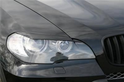 .Реснички, накладки фар Х5 BMW E70