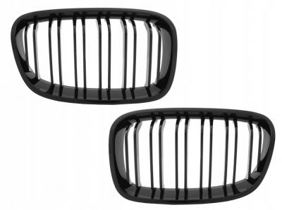 Решетка радиатора (ноздри) BMW F20 / F21 M-LOOK черная глянцевая