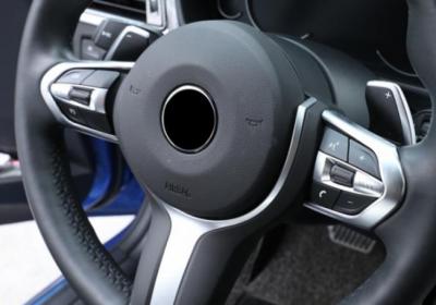 Накладки на руль BMW F20 / F22 / F30 / F32 / F10 / F06 / F15 / F16, хром