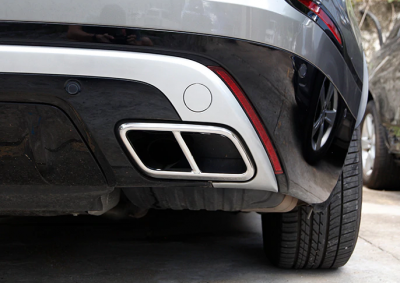 Хромированные накладки на глушитель Range Rover Velar