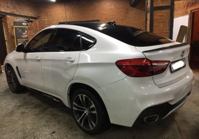 Спойлер на крышку багажника BMW X6 F16, карбон