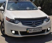 Дефлектор капота мухобойка SIM Honda Accord