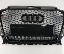 .Решетка радиатора Audi A3 8V стиль RS3 + квадро (2012-2016)