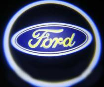 Подсветка дверей с логотипом Ford