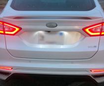 Стоп-сигналы на Ford Fusion / Mondeo красные