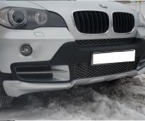 .Накладка переднего бампера BMW X5 е70