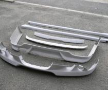 .Накладка переднего бампера стиль Шницер бмв е60
