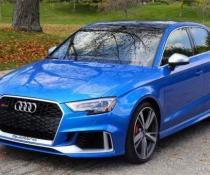.Бампер передний на Audi A5 стиль RS5 (2017-...)
