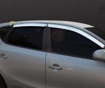 Дефлекторы окон ветровики Cobra Tuning Hyundai I 30 Hb 2007-2011