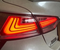 .Оптика задняя, фонари на Toyota Camry 70 дымчатые