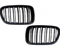 .Решетка радиатора для БМВ X3 F25 стиль М (черный глянцевый)