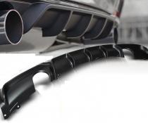 Накладка на задний бампер БМВ Ф30  М перформанс