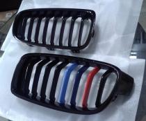 .Решетка радиатора для БМВ F30/F31 (черный глянцевый) M-pakiet