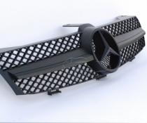 Решетка радиатора для Mercedes W219 CLS стиль AMG, темная матовая