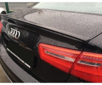 Липспойлер на крышку багажника Audi A6 С7 sedan