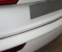 Накладка на задний бампер  AUDI Q5  с загибом