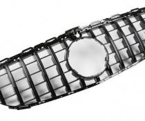 Решетка радиатора MERCEDES W205 стиль PANAMERICANA черная