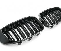 Решетка радиатора BMW 3 GT F34 в стиле М3 черная глянцевая