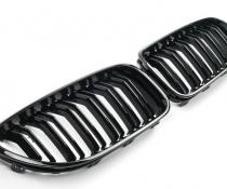 Решетка радиатора BMW 6 F06, F12, F13 стиль М6 черная
