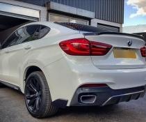 .Спойлер крышки багажника на BMW X6 F16 M-PERFORMANCE стиль