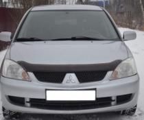 Дефлектор капота мухобойка SIM Mitsubishi Lancer 2003+