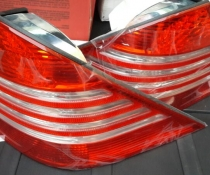 .Оптика задняя, фонари на Mercedes W220