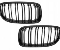 .Решетка радиатора  BMW E90 / E91  в стиле М черная глянцевая