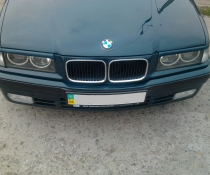 Реснички, накладки фар BMW E36