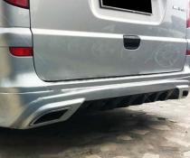 Накладка на задний бампер Mercedes Vito W639 стиль AMG
