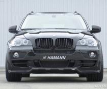 Бампер передний на БМВ Х5 Хаманн е70