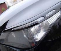 Реснички, накладки фар BMW E60