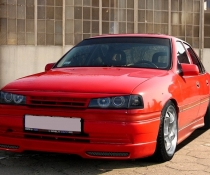 Ресницы Opel Vectra A, ресничка бедлук Вектра А