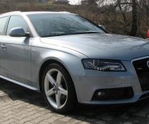 . Пороги на Audi A4 B8