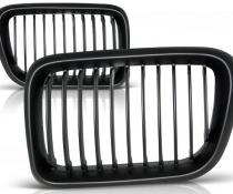 .Решетка радиатора BMW E36 черная матовая