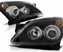 .Оптика передняя, фары на Opel Astra H