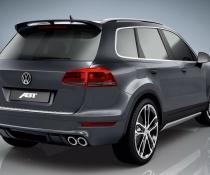 .Спойлер на Volkswagen Touareg 2 ABT стиль