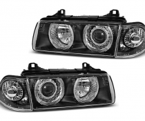 .Оптика передняя BMW E36, линзованные фары