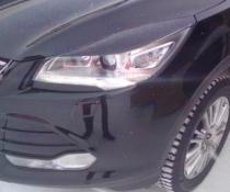 .Реснички (накладки фар) Ford Kuga II (2013-2016)