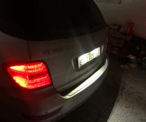 Подсветка номера для Mercedes-Benz