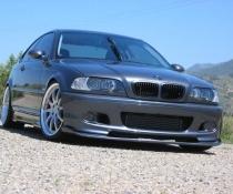 .Докладка переднего бампера м пакет BMW E46