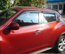 Дефлекторы окон ветровики SIM Nissan Juke