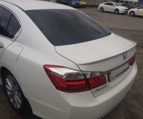 Акция! Спойлер (лип-спойлер) багажника Honda Accord CL 9 2013+