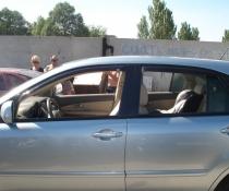Дефлекторы окон ветровики EGR Lexus RХ