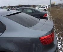 Козырёк на стекло (бленда) Volkswagen Jetta 2011-2015 (стеклопластик)