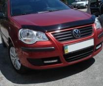 Дефлектор капота мухобойка EGR Volkswagen Polo 2005-2009