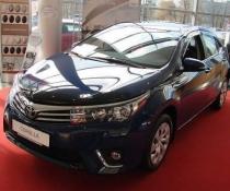 Дефлекторы окон ветровики SIM Toyota Corolla Sd 2013+