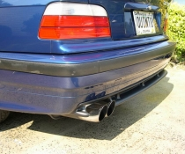 Диффузор заднего бампера BMW E36